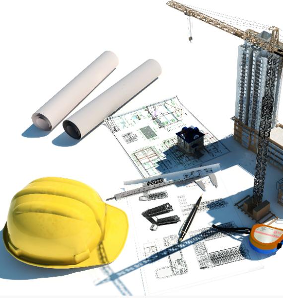 <span>Проектирование</span> и <span> строительство</span> различных типов зданий